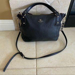 Kate Spade Black Crossbody Bag with Gold Hardware